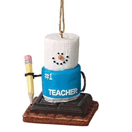 S'mores Number 1 Teacher Christmas Ornament by Midwest-CBK (Cannon Falls Smores)
