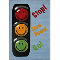 Fun Rugs SW-16 3958 Smiley World Traffic Signal