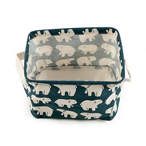Mikash Desktop Storage Box Basket Holder Jewelry Cosmetic Stationery Organizer Case Bag | Model JWRLBX - 1663 |