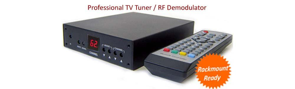 Analog CATV Tuner With RCA A/V Output For Cable TV Satellite Receiver by AllAboutAdapters