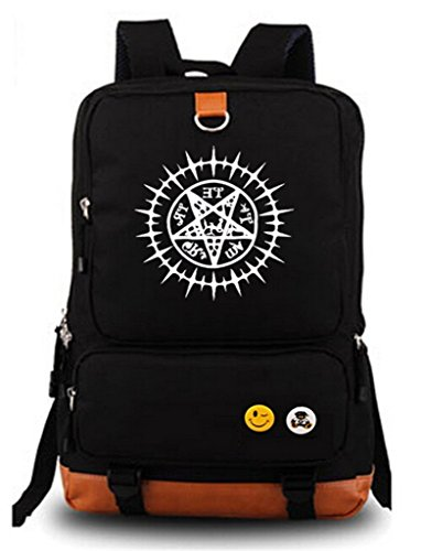 Siawasey Black Butler Anime Cosplay Luminous Backpack Shoulder Bag School Bag