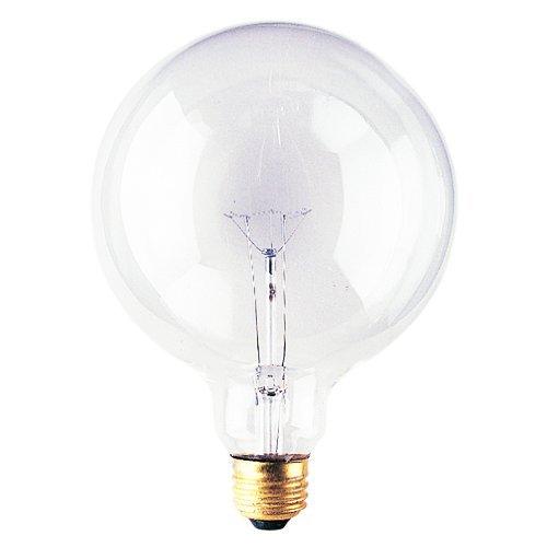(Bulbrite 100G40CL 100W G40 Globe 125V Medium Base Light Bulb,)