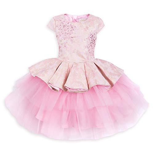 Disney Aurora Fancy Dress for Girls - Sleeping Beauty Size 3 Pink -