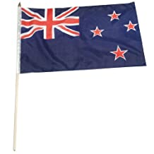 US Flag Store New Zealand Flag, 12 by 18-Inch