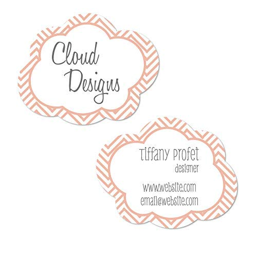 Cloud Shaped Business Cards