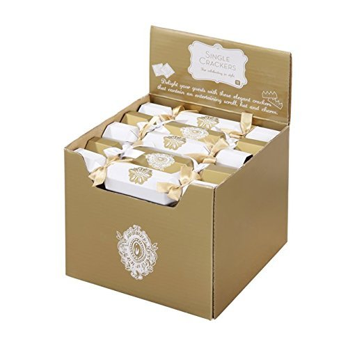 talking tables pack of 20 mini wedding crackers great for favours amazoncouk toys games