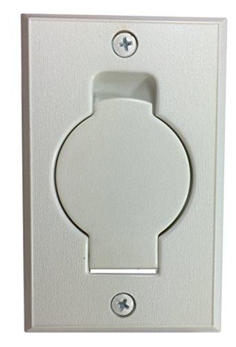 Hayden Central Vacuum Systems - Hayden Inlet Valve with Round Door-White