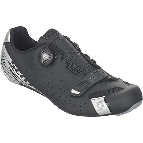区別する耐えられないビジョン(スコット) Scott Road Comp BOA Cycling Shoe メンズ ロードバイクシューズMatte Black/Silver [並行輸入品]