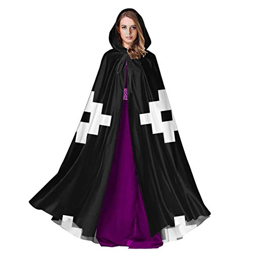 familygam Cloak for Men and Woemn Seamless Pattern with Inca Crosses Ornament. Ethnic Embroidery Background. Cloak Cape Halloween
