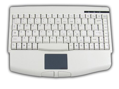 Button Usb Touchpad Glidepoint (Adesso ACK-540UW - Mini Touchpad USB Keyboard for Windows with Wrist Rest)