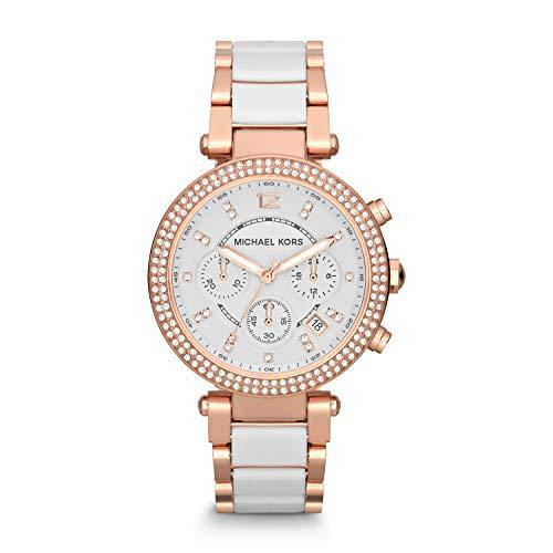Michael Kors Women's Parker Rose Gold-Tone Watch MK5774 ()