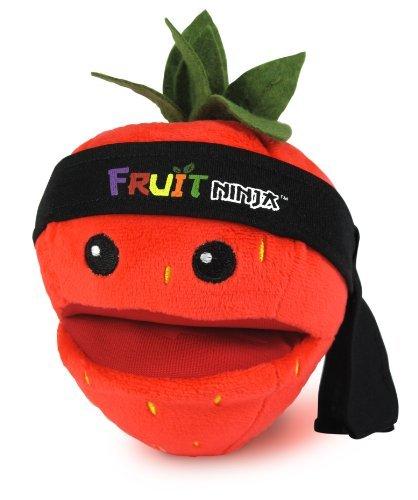 fruit ninja plush strawberry - 3