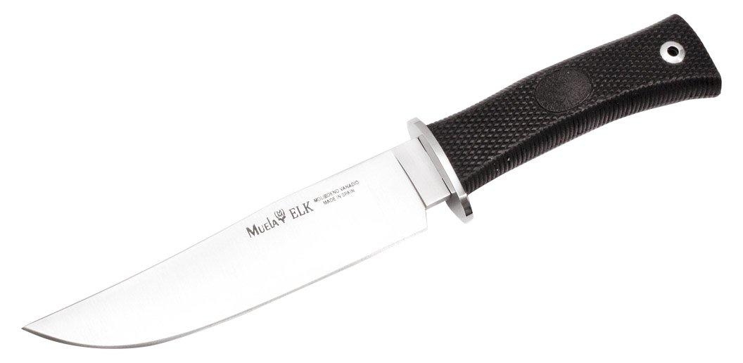Amazon.com: Muela elk-14g Fixed Blade cuchillo de caza con ...