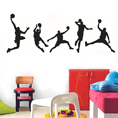 Wall Sticker DIY Pulison Family Home Wall Sticker Removable Mural Decals Vinyl Art Room Decor 44X126CM Art Decor Crafts For Classroom Offices Kids Girl Boy Baby Bedroom Bathroom Living Room Magnets ()