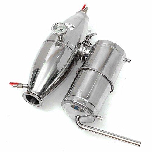TOPCHANCES Household 45L Stainless Alcohol Sistiller Beer /Wine Making Boiler