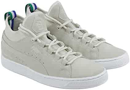 8455ebefd PUMA Mid Classic Big Sean Mens Beige Suede Lace up Sneakers Shoes