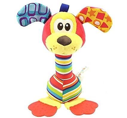 SDCXV Gracioso 1 Unid Bebé Niños Juguete Juguete de Juguete Educativo Sonajero de Peluche Suave Creativo