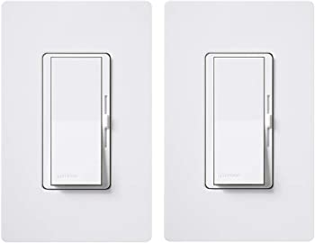 Lutron DVWCL-153PH-2-WH Diva Single Pole
