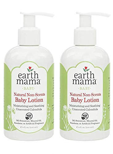 Earth Mama Angel Baby Angel Baby Lotion, 2 Pack - 8 Oz.