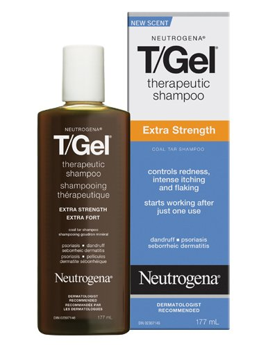 Neutrogena T-Gel Therapeutic Shampoo, Extra Strength, 6 Ounce (Pack of -