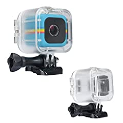 Newmowa Waterproof Case for Polaroid Cube ◆Innovative design ◆Waterproof Case is exclusively designed for the Polaroid Cube, and it can be used with all kinds of Gopro accessories ◆Allow your Polaroid Cube camera shooting underwater down to 3...