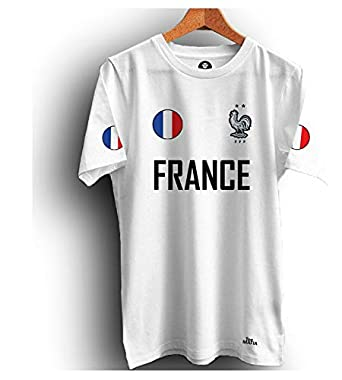 the latest c4d07 2010a Tee Mafia Unisex Designer Football Dry fit T-Shirt |France T-Shirts| France  National Football Team T-Shirt| FIFA Word Cup t-Shirt|Champion ...