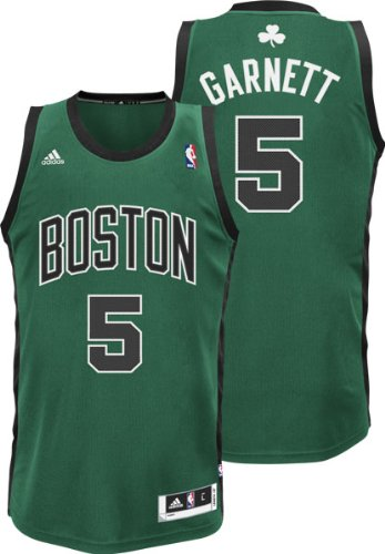 Amazon.com   NBA Boston Celtics Kevin Garnett Swingman Jersey Green ... 36891c55a