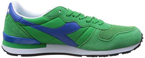 Diadora Mens Camaro Scarpa Da Running Verde Brillante / Blu Reflusso