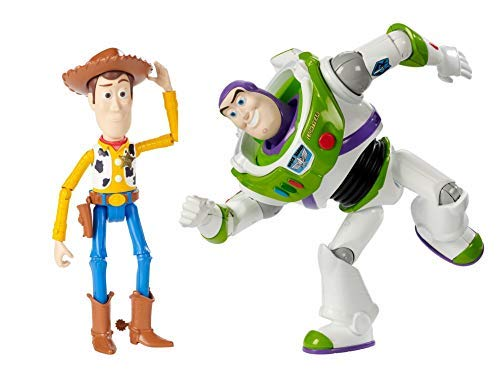 """Disney Toy Story Woody & Buzz Figures, 7"""" - 2 Pack"""