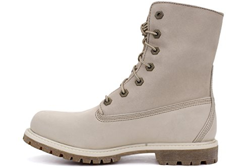 Women's White Wp Boots Down Fold Teddy Fleece Timberland qwH0X0