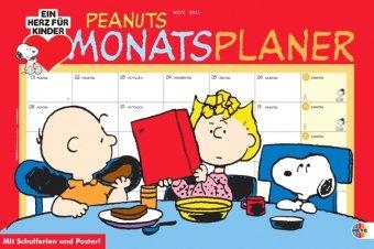 Peanuts Monatsplaner 2011