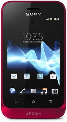 Sony Xperia Tipo - Smartphone Libre Android Color Rojo [Importado ...