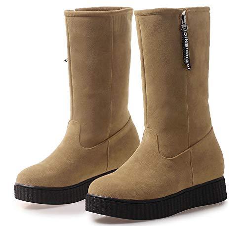 Rond Chaussures Plates Mod Aisun Bout Femme Classique Pywaf6dyq aqWww68tx