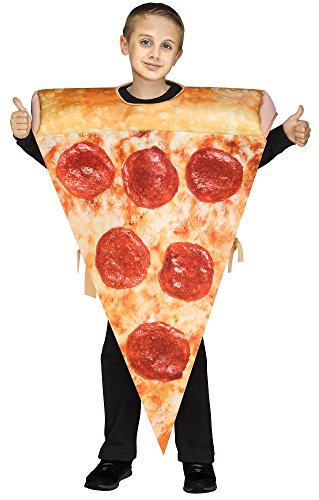Kids Pizza Costume (Fun World 110232 Photo Real Pizza Tunic Costume ,)