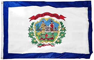 product image for Valley Forge West Virginia 3ft x 5ft Spun Heavy Duty Polyester Flag