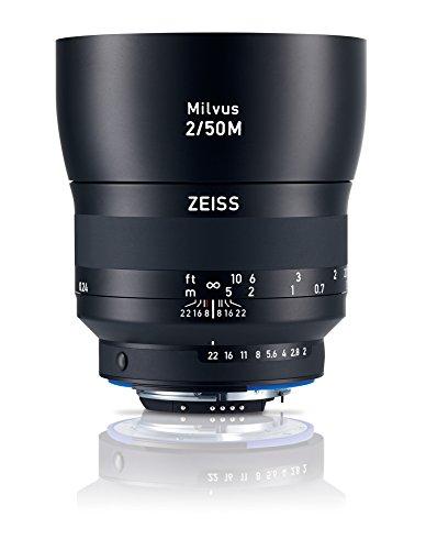Zeiss Milvus 50mm f/2M ZE Lens (Nikon F-Mount)