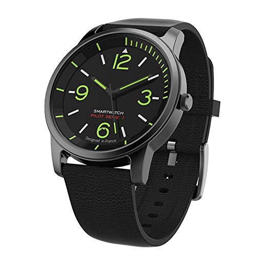 Alloet S-69 30ATM Waterproof Quartz Night Vision Bluetooth Smart Watch(Black) by Alloet