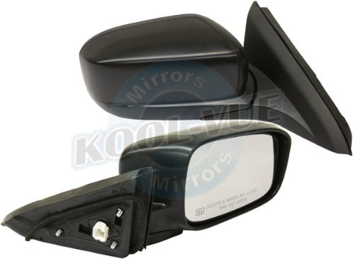 Coupe Power Side Mirrors (HONDA ACCORD 03-07 SIDE MIRROR RIGHT PASSENGER, Power, Foldaway, Black, Coupe)
