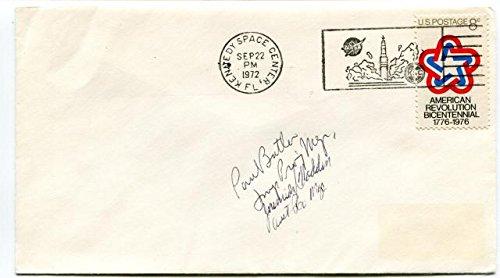 1972 Kennedy Space Center American Revolution Bicentennal NASA USA SAT SIGNED