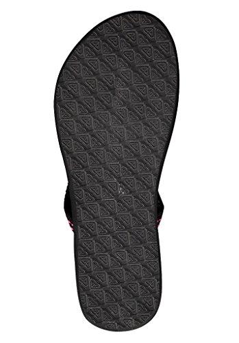 roxy women's flip flops 'tallia slim' BLACK UK 8 SPmQPCq