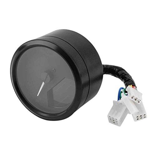 Egal LCD Digital Tachometer Speedometer Odometer Motorcycle Motorbike 12000RPM Speed Meter