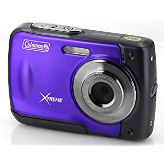 "Coleman Xtreme 18.0 MP HD Underwater Digital & Video Camera (Waterproof to 10 ft.), 2.5"", Purple (C20WP-P)"