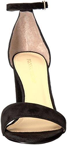 IVANKA TRUMP con tacón Sandalia Mujer GamuzaBlack Negro para Suede Klover 4rrdtw