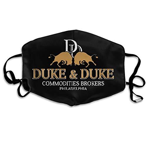 Splendid Fee Trading Places Duke And Duke (1) Mask Dustproof Dustproof Breathable Mask Men And Women Fashion Print Mask Reusable Mask