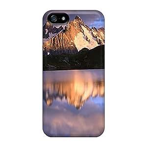Excellent Design Beautiful Reflection Phone Case For Iphone 5/5s Premium Tpu Case