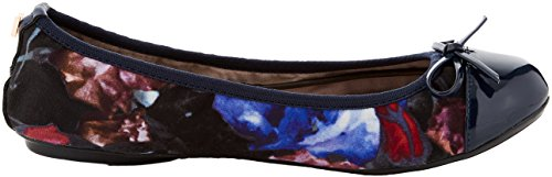 Chiusa Butterfly Ballerine 128 Twists Donna Punta Floral Floral Navy Blu Olivia wwTBxqSX