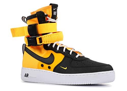 Nike SF Air Force 1 Men's Shoes Laser Orange/Black/White 864024-800 (10.5 D(M) US) ()