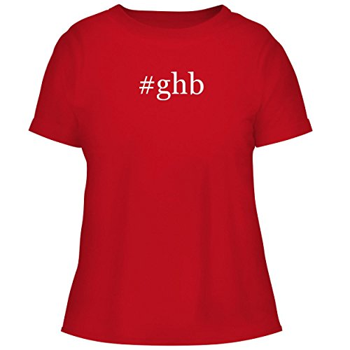 BH Cool Designs #GHB - Cute Women's Graphic Tee, Red, - Iron Flat Ghb