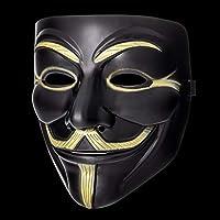UltraByEasyPeasyStore Ultra Negro Adultos Guy Fawkes Mascara ...