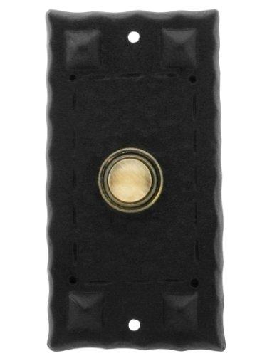 Hammered Craftsman Style Doorbell Button